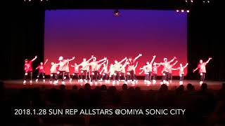 Download 2018.1.28 SUN REP ALLSTARS @OMIYA SONIC CITY MP3 song and Music Video
