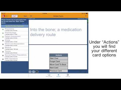 McGraw-Hill Education EMT Flashcards and Paramedic Flashcards