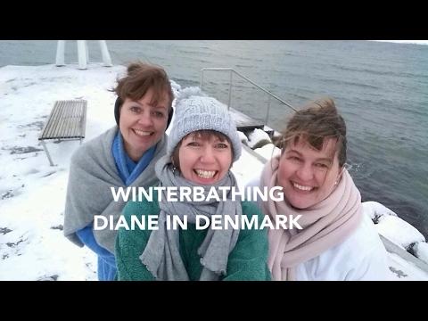 Winterbathing - Diane in Denmark