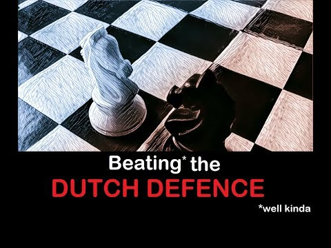 Beat the DUTCH DEFENCE with Lisitisin Gambit!