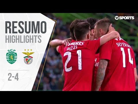 Highlights | Resumo: Sporting 2-4 Benfica (Liga 18/19 #20)