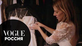 Свадьбы Vogue. Жемчужное платье Chanel