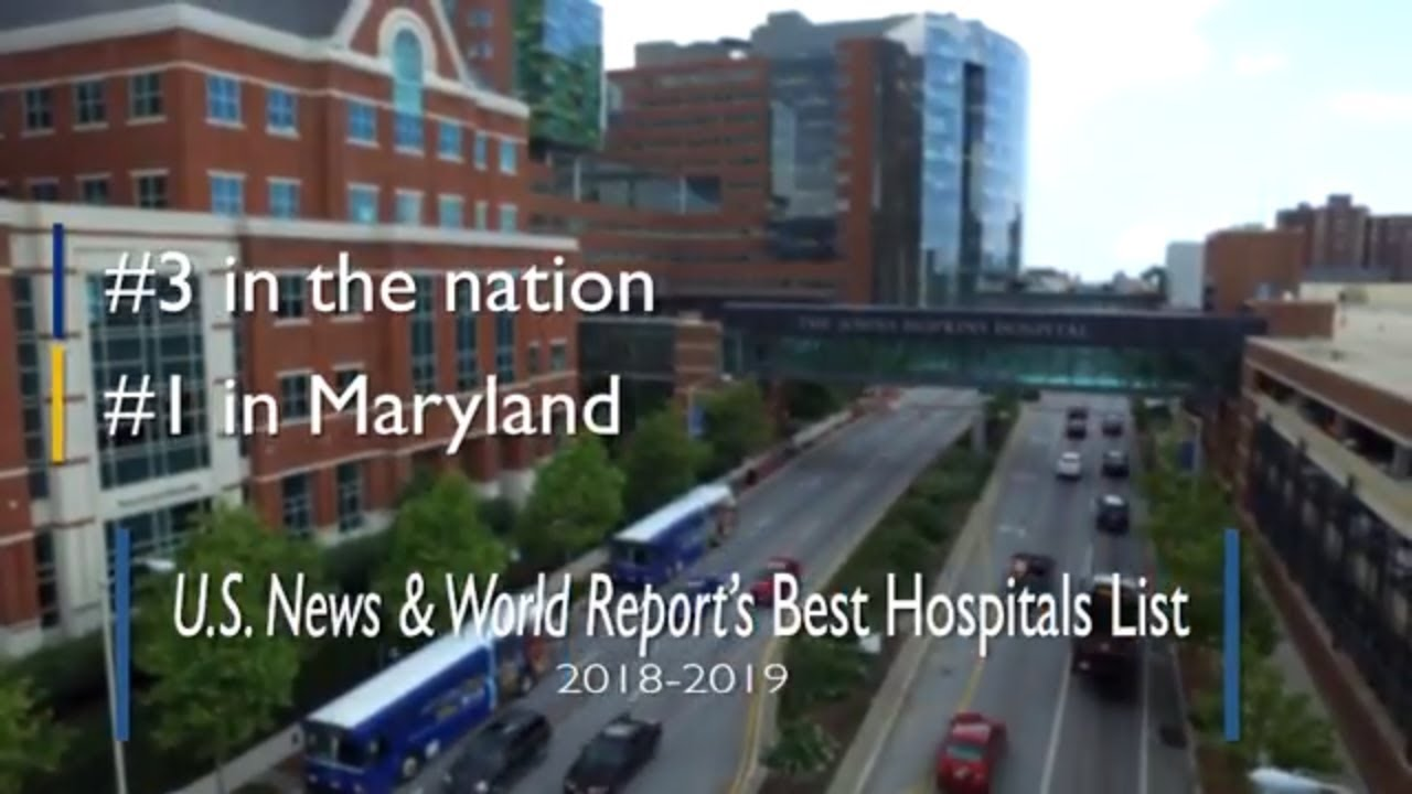 Johns Hopkins Hospital ranked third in the nation by 'U S  News' | Hub