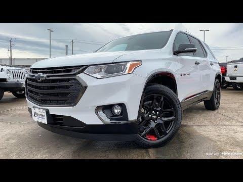 2019 Chevrolet Traverse Redline Edition - STYLISH FAMILY HAULER