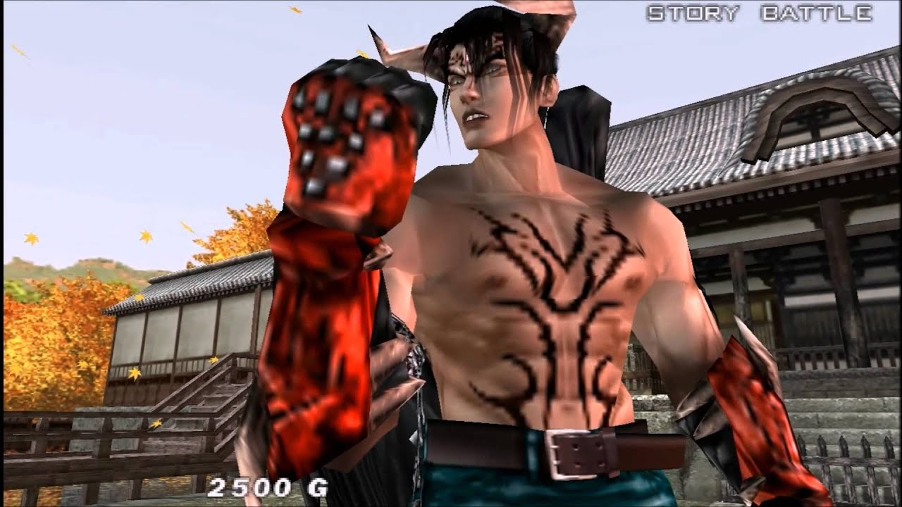 Tekken Dark Resurrection Devil Jin Story Battle Youtube