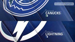 Vancouver Canucks vs Tampa Bay Lightning Oct 11, 2018 HIGHLIGHTS HD