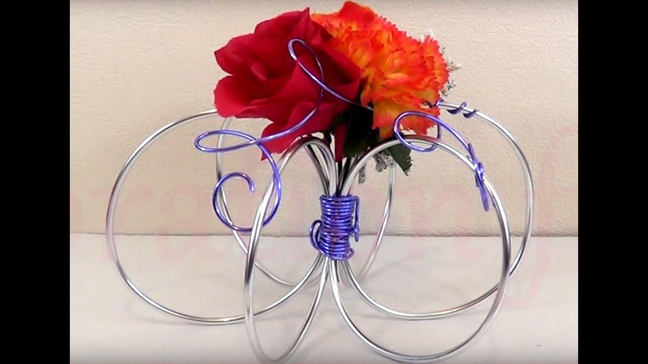 Favori ▻ [ TUTO ] Réalisation d'un Centre de table de fête en Fleurs et  YX18
