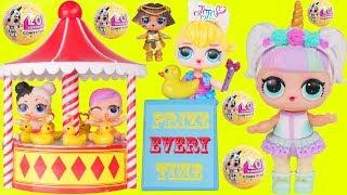 Unicorn and JOJO Babe Babysit Custom LOL Surprise Dolls