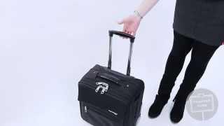 Hauptstadtkoffer® - Serie Mitte Handgepäck,Pilotentrolley & Laptoptasche mit Griffen -20 & 40 Liter