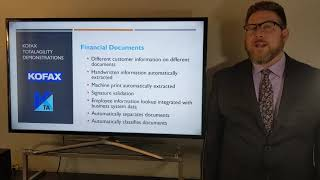 Cognitive Document Automation - Kofax TotalAgility - Financial Documents Demonstration