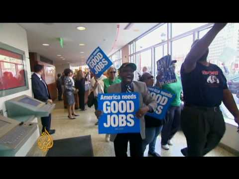 Jobless Americans struggle to cope