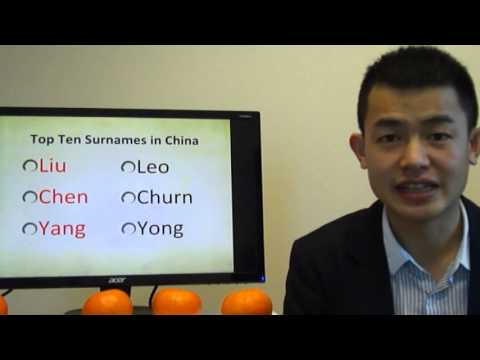How to Pronounce the Top Ten Chinese Family Names? (Part 3-2)