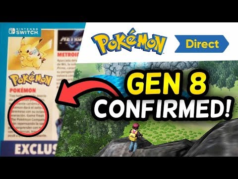 NINTENDO CONFIRMS GEN 8 FOR POKÉMON SWITCH + NEW CREDIBLE LEAKS!