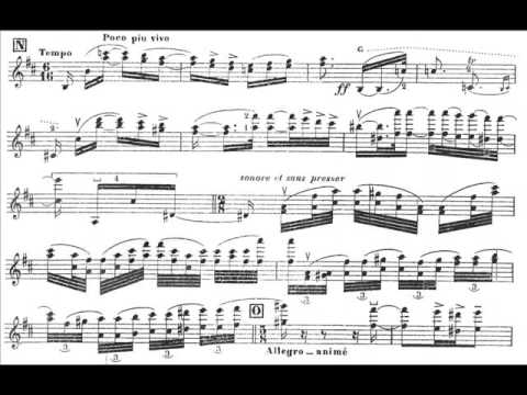 Ysaye, Eugene op.15 Chant d'Hiver (Wintersong) violin+ orchestra