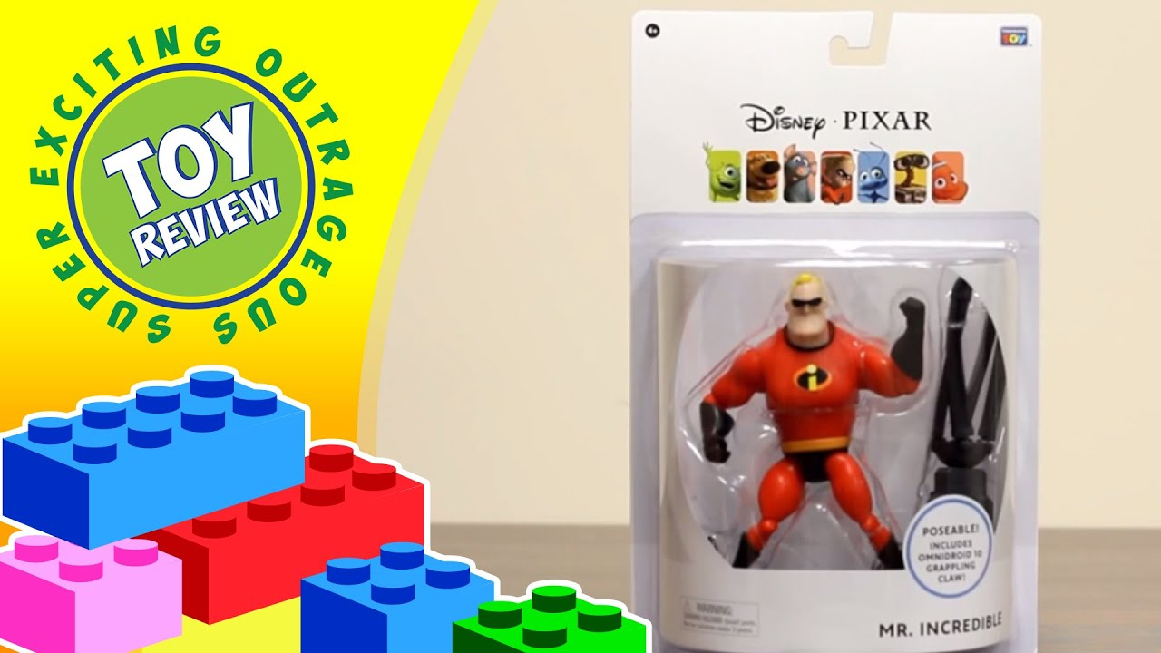 Best Incredibles Toys Reviewed : Disney pixar collection mr incredible from the incredibles