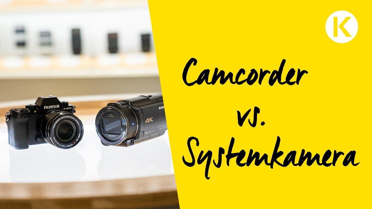 Camcorder oder Systemkamera - Was ist besser für Video?  | Foto Koch