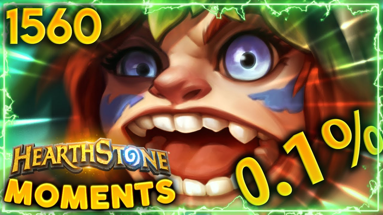 The 0.1% LETHAL ACTUALLY HAPPENED!! | Hearthstone Daily Moments Ep.1560