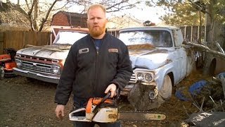 Replace Stihl Chainsaw Crankcase Seals and Vacuum Test
