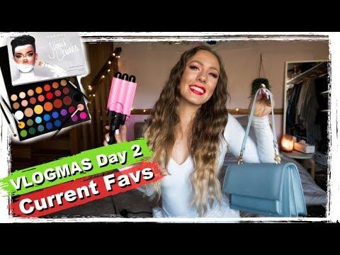 current-favourites---james-charles-palate,-hair-crimper-and-vegan-handbags-|-vlogmas-day-2