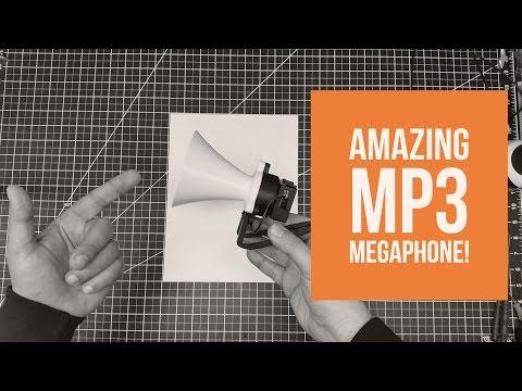 3D Printed Project - Thingverse MegaPhone MP3 Build!
