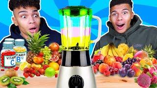 DER VITAMINREICHSTE DRINK DER WELT !!! | Kelvin und Marvin