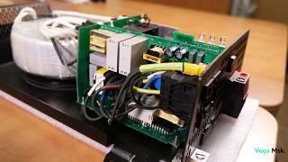 видео Инвертор 12 220 1 кВт Victron Phoenix Compact 12/1200 — купить инвертор c чистым синусом в Солнечные.RU