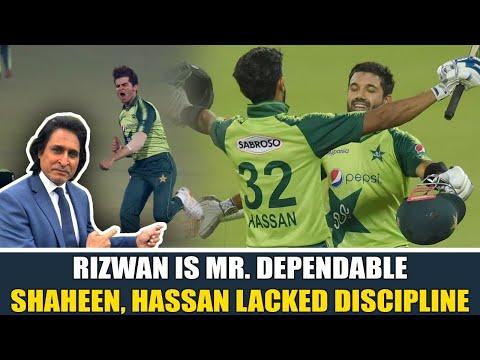 Ramiz Raja: Rizwan is Mr. Dependable | Shaheen, Hassan lacked discipline