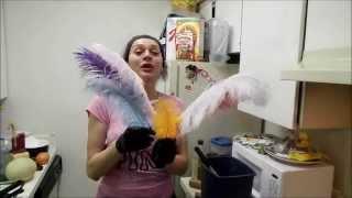 como pintar las plumas