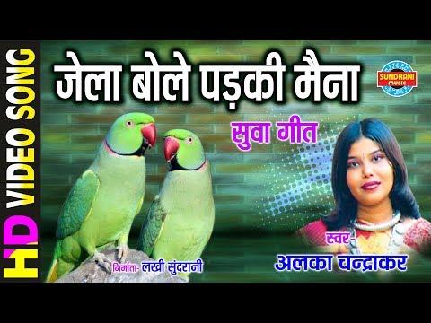 JELA BOLAY PADKI MAINA - जेला बोले पड़की मैना - ALKA CHANDRKAR - Gaura Gauri Darshan - CG Song