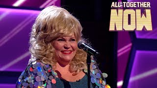 Diva Hilary's big voice matches big hair and big sequins | All Together Now