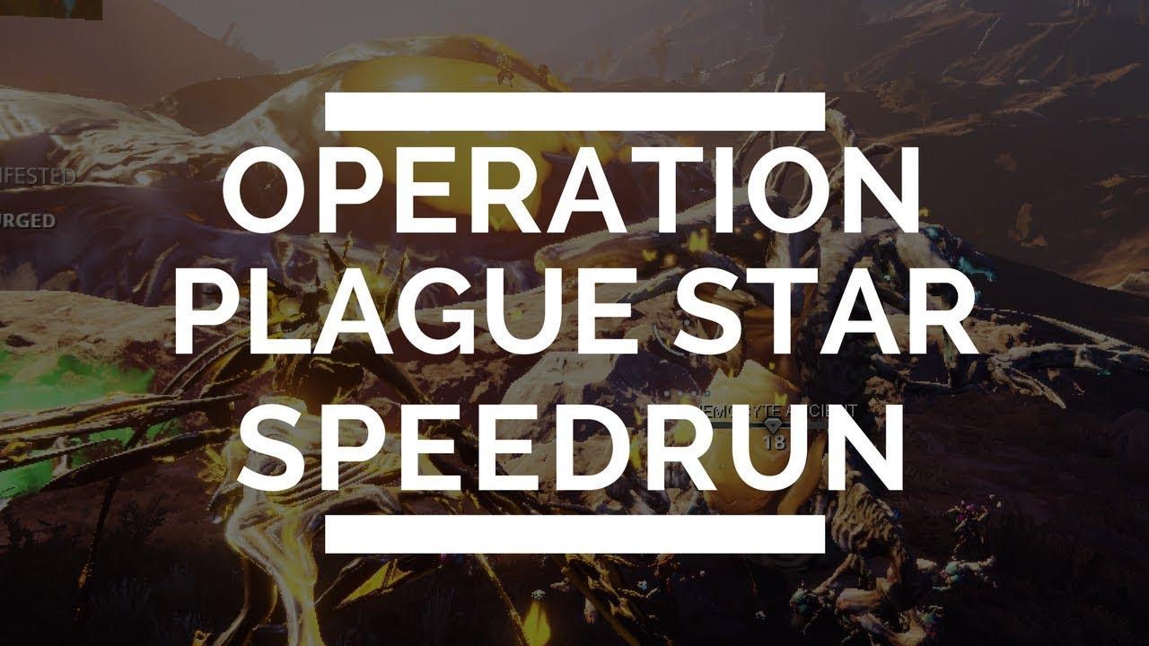 Warframe: Build & Tips for Speedrunning Operation Plague Star Bounty