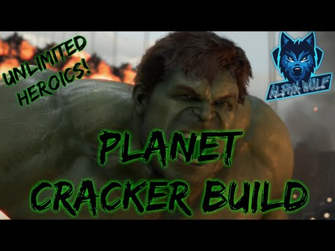 Marvel's Avengers | Hulk Planet Cracker Build |