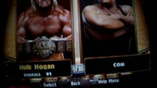 All Characters on Legends of Wrestlemania