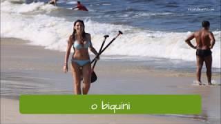 Beach Vocabulary in Portuguese - A Dica do Dia
