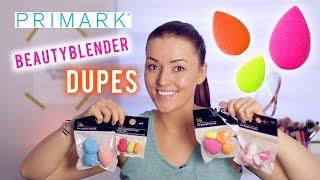 Primark beautyblender dupes ❤ testen | Beautygloss
