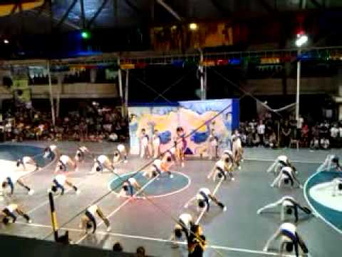 SPC Nursing Angels Pep Squad Informal Cheering 2011 (Top View)