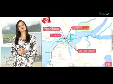 Goa tour: 3-day itinerary in 60 seconds