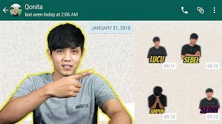 Download Video Cara Membuat Stiker Whatsapp Dengan Foto Sendiri MP3 3GP MP4