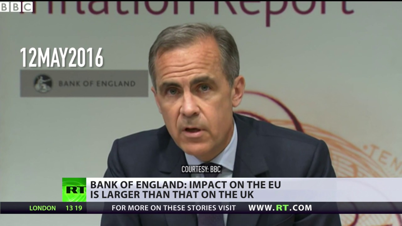 Brexit Flip-Flop: Bank of England head says exit will hit EU harder than UK