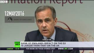 Brexit Flip Flop  Bank of England head says exit will hit EU harder than UK