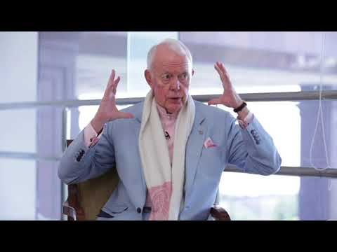 Himanshu Saxena in conversation with Mind Map Expert- Tony Buzan