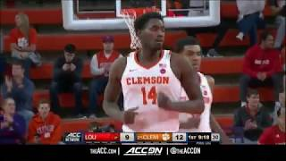 Louisville vs Clemson College Basketball Condensed Game 2018