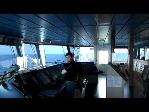 On board of Oil Tanker (HammerFall-Glory to brave)
