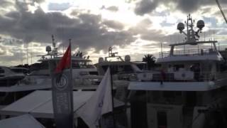 Vicem Yachts display at the 2013 Miami Boat Show