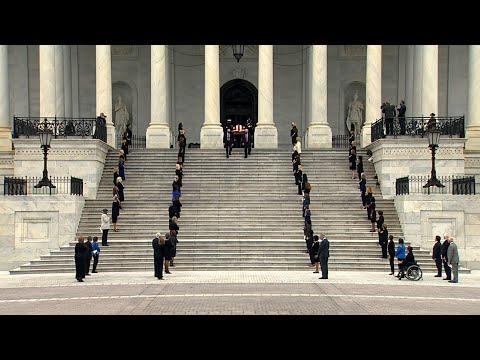 Associated Press: Ginsburg casket departs US Capitol after ceremony