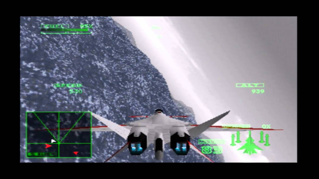 Ace Combat 2/Final coutdown (XFA-27) #39 french