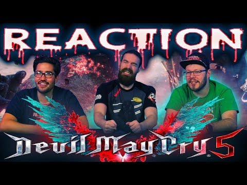 Devil May Cry 5 - TGS 2018 Trailer REACTION!!