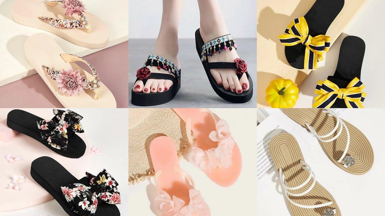 Ladies Flat Sandals Designs 2020|Girls