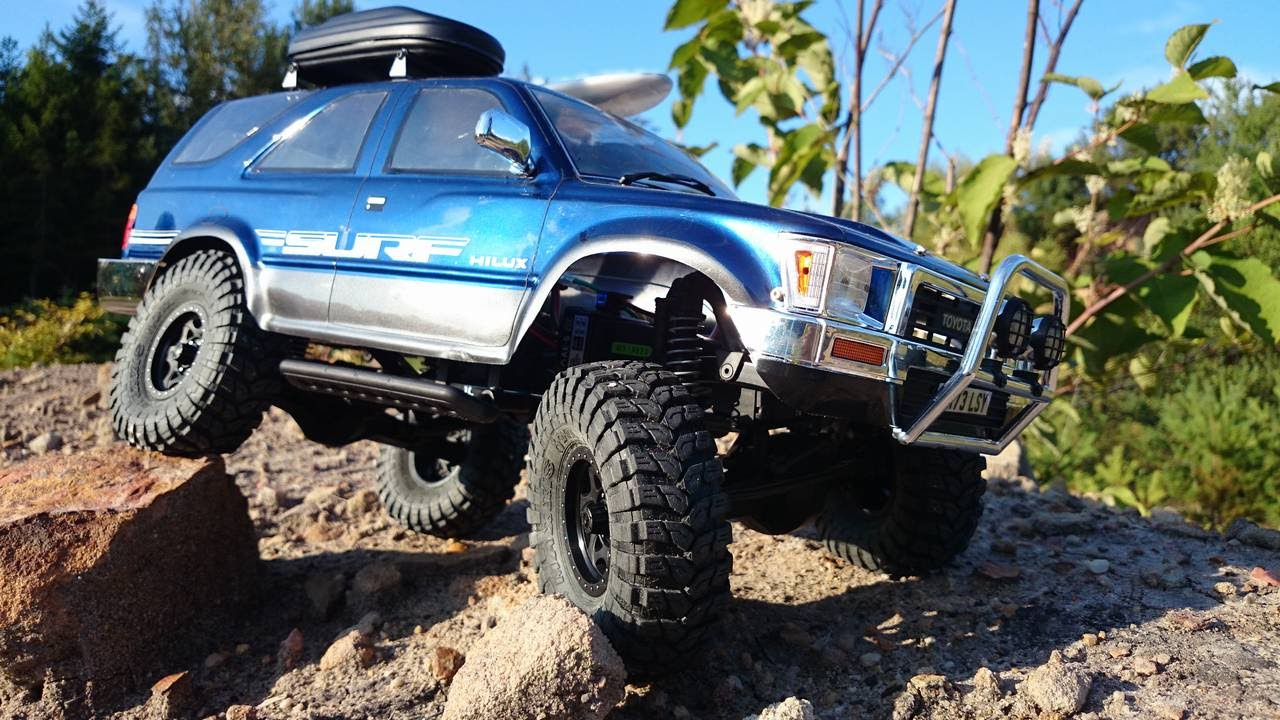 Axial Scx10 Rc Scale Toyota 4runner Youtube