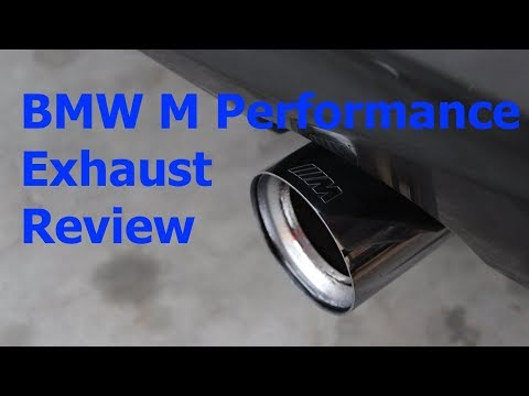 Review: BMW 535i (F10/F11) M Performance Exhaust